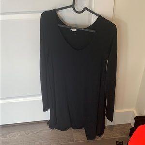 Long sleeve rayon dress from garage